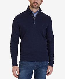 Nautica Men's Quarter-Zip Pullover Sweater