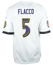 Nike Men's Joe Flacco Baltimore Ravens Game Jersey