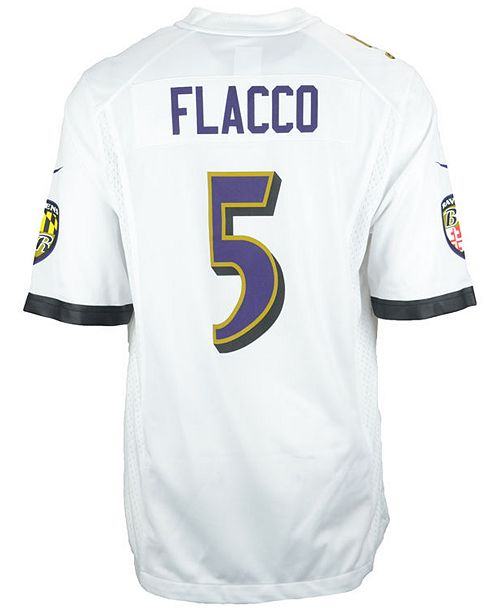 e911132e5 Nike Men's Joe Flacco Baltimore Ravens Game Jersey & Reviews ...