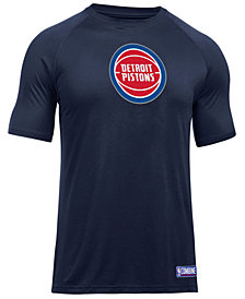 Under Armour Men's Detroit Pistons Primary Logo T-Shirt