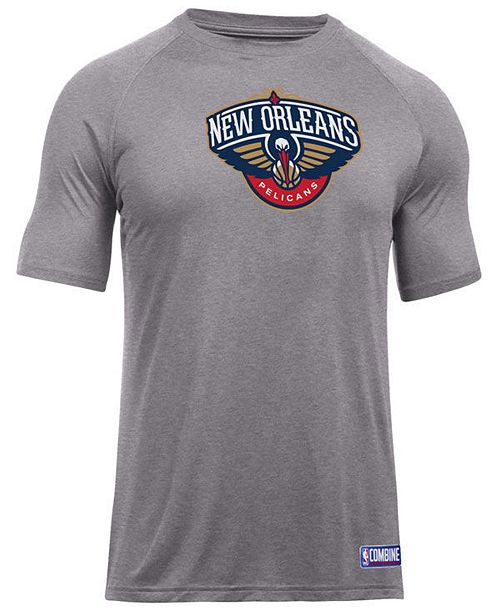 Under Armour Men's New Orleans Pelicans Primary Logo T-Shirt