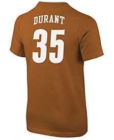 Kevin Durant Texas Longhorns Future Start Replica T-Shirt, Big Boys (8-20)