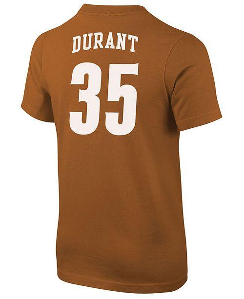 online store d38d3 031e3 Kevin Durant Texas Longhorns Future Start Replica T-Shirt, Big Boys (8-20)
