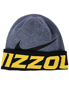 e294e861 Nike Missouri Tigers Heather Pom Knit Hat - Sports Fan Shop By Lids ...