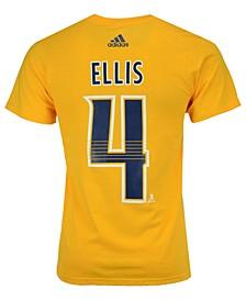 Men's Ryan Ellis Nashville Predators Silver Player T-Shirt