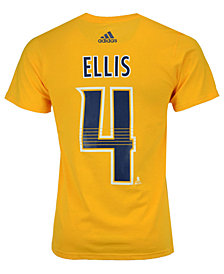 adidas Men's Ryan Ellis Nashville Predators Silver Player T-Shirt