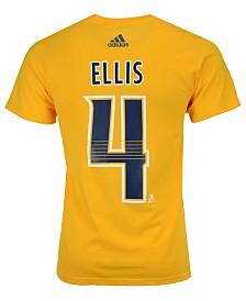 adidas Men's Ryan Ellis Nashville Predators Silver Player T-Shirt