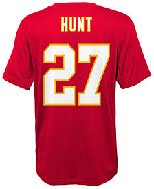 Nike Kareem Hunt Kansas City Chiefs Pride Name and Number T-Shirt, Big Boys