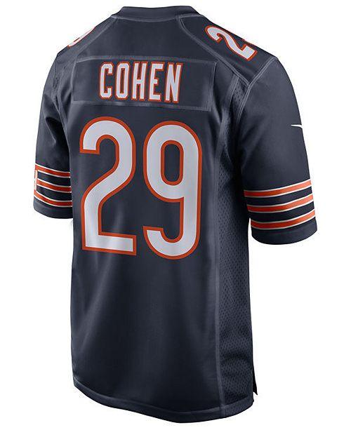 separation shoes 2f9ec 8a9b2 Nike Men's Tarik Cohen Chicago Bears Game Jersey & Reviews ...
