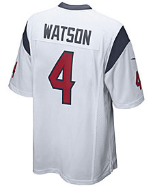 Nike Men's DeShaun Watson Houston Texans Game Jersey