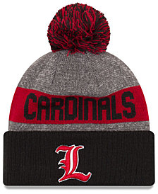 New Era Louisville Cardinals Sport Knit Hat