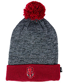 Nike Arkansas Razorbacks Heather Pom Knit Hat