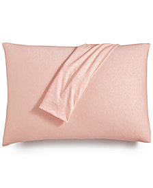 Calvin Klein Modern Cotton Harrison Pink Pair of Standard Pillowcases