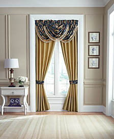 "CLOSEOUT! Croscill Calice Pole Top Drapery 41"" x 84"" Window Panels"