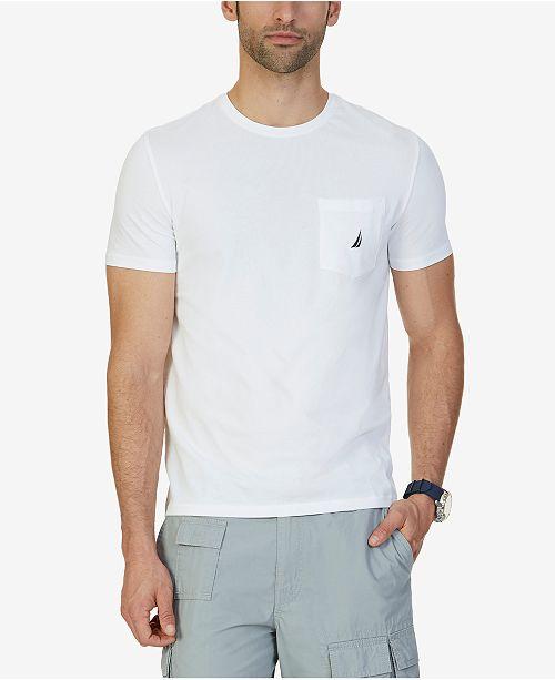 Nautica Men's Big & Tall Anchor Pocket T-Shirt
