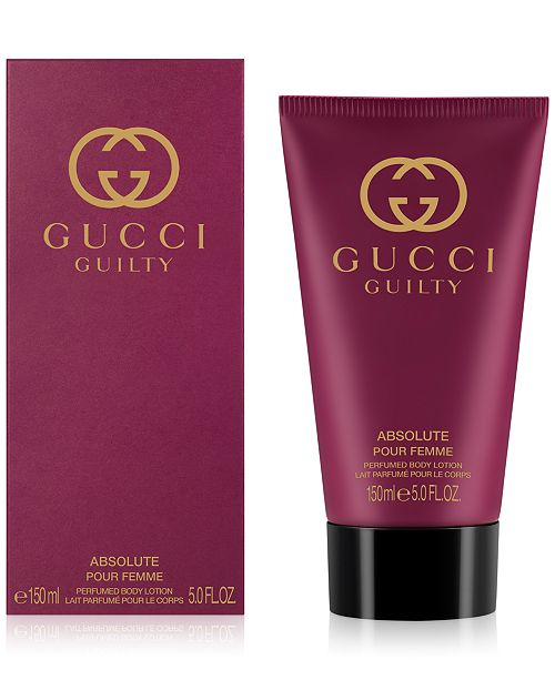 Gucci Guilty Absolute Pour Femme Body Lotion, 5-oz. - All Perfume ... 03ef45180da