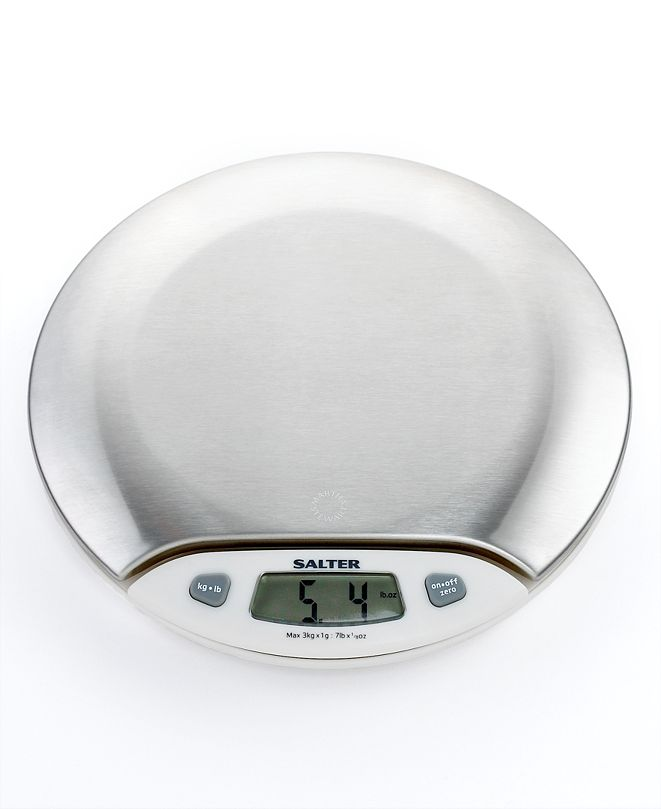Martha Stewart Collection Digital Kitchen  Stainless Steel Scale, Created for Macy's