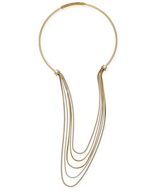 Thalia Sodi Gold-Tone Multi-Row Necklace, Created for Macy's