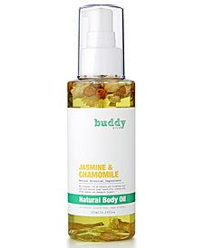 Buddy Scrub Jasmine & Chamomile Natural Body Oil, 4.23 fl. oz.
