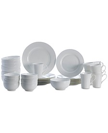 Del Ray 40-Pc. Dinnerware Set, Service For 8