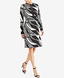 Lauren Ralph Lauren Printed Crepe Dress