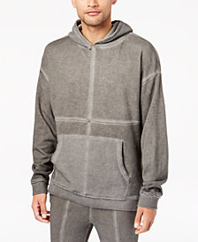 Jaywalker Men's Cross Seamed Hooded Sweatshirt