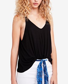 Free People Dani V-Neck Tank Top