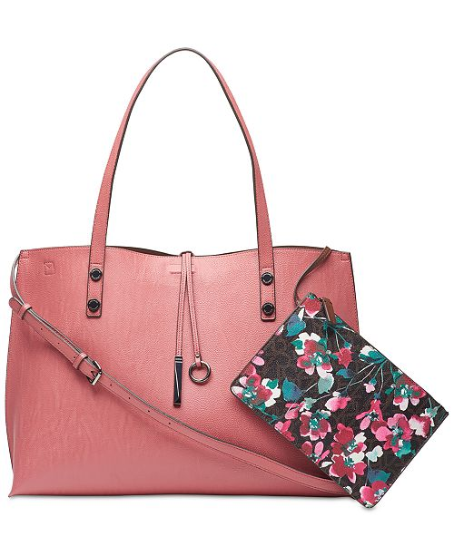 5a334269e Calvin Klein Sonoma Extra Large Reversible Tote with Pouch ...