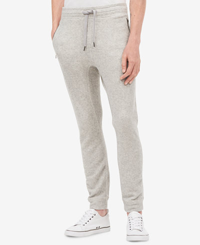 Calvin Klein Jeans Men's Tapered Fit Brushed Cozy Sweatpants