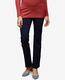 Motherhood Maternity Skinny Boot-Cut Pants