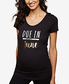 Motherhood Maternity Due In June™ Maternity Tee