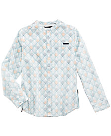 Sean John Reflections Cotton Shirt, Big Boys