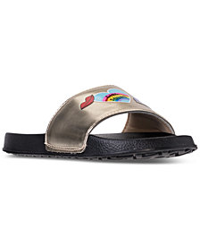 Nine West Little Girls' Britnay Slide Sandals from Finish Line