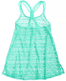 Summer Crush Crochet Cover Up, Big Girls