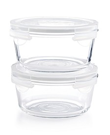 4-Pc. Round Glass Storage Set, Created for Macy's