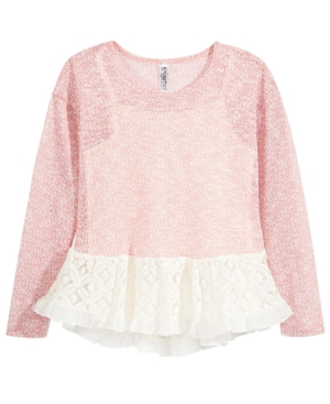 Beautees 2-Pc. Knit Top...