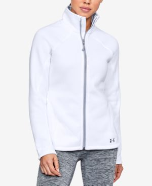 Under Armour Pick Up The Pace Storm Reactor Jacket In White