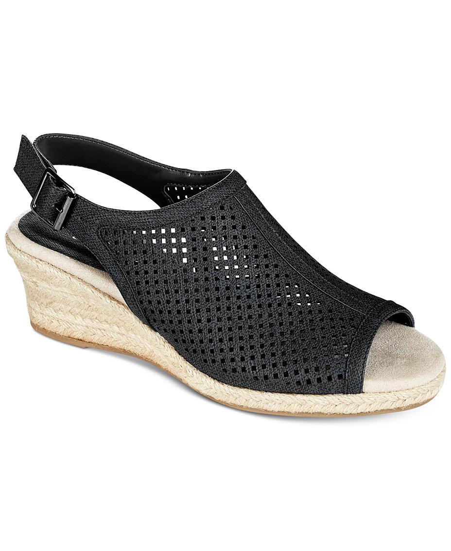 9310c2e3460 Easy Street Stacy Wedge Sandals & Reviews - Sandals & Flip Flops ...