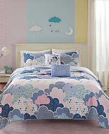 Urban Habitat Kids Cloud 5-Pc. Printed Coverlet Sets