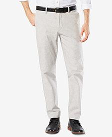Dockers Men's Clean Slim Tapered Fit Khaki Stretch Pants