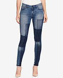 WILLIAM RAST Colorblocked Skinny Jeans