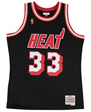hot sale online b2b32 b0e8f Mitchell   Ness Men s Alonzo Mourning Miami Heat Hardwood Classic Swingman  Jersey