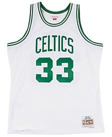 Men's Larry Bird Boston Celtics Hardwood Classic Swingman Jersey