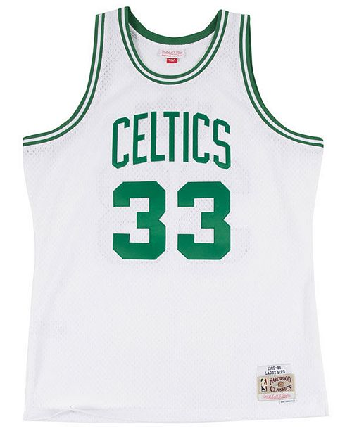 ... Mitchell   Ness Men s Larry Bird Boston Celtics Hardwood Classic  Swingman Jersey ... 79240bcc1