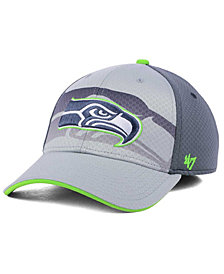 '47 Brand Seattle Seahawks Greyscale Contender Flex Cap
