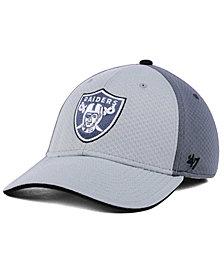 '47 Brand Oakland Raiders Greyscale Contender Flex Cap