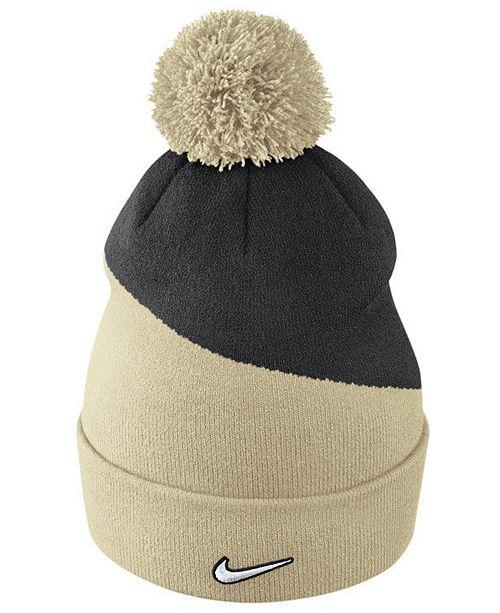 big sale b6442 decd8 Nike Colorado Buffaloes Champ Pom Knit Hat - Sports Fan Shop By Lids - Men  - Macy s
