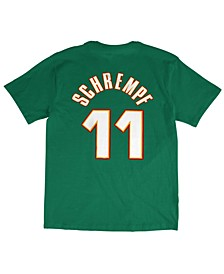Men's Detlef Schrempf Seattle SuperSonics Hardwood Classic Player T-Shirt