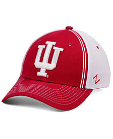 Zephyr Indiana Hoosiers Pattern Pipe Stretch Cap