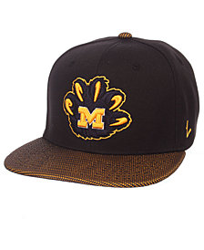 Zephyr Michigan Wolverines Spider Snapback Cap